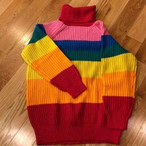 Lazy Oaf Sweaters Rainbow Roll Neck Sweater Poshmark